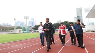 Cek Persiapan Asian Games 2018, Jokowi Pantau Komplek GBK