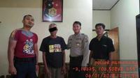 Kakek cabul asal Kabupaten Merangin, Provinsi Jambi ditangkap aparat kepolisian. (Foto: Dok Polres Merangin/B Santoso)