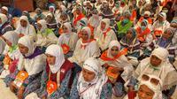 Jemaah Haji siap meninggalkan Makkah. Bahauddin/MCH 2019