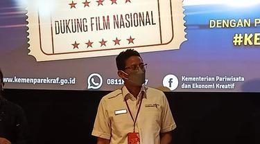 Menparekraf Sandiaga Uno Ajak Isi Ngabuburit Puasa Ramadhan dengan Nonton Bioskop
