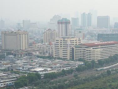 Minim RTH, Begini Wajah Polusi Udara di Langit Jakarta
