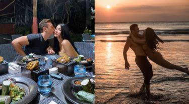 6 Momen Seru Liburan Lucinta Luna dan Kekasih Barunya di Bali