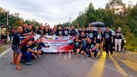 ID42NER melalukan touring melintasi 3 negara, Indonesia, Malaysia dan Brunei. (Foto: ID42NER)