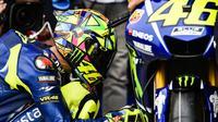 Valentino Rossi mengaku sudah punya perasaan bakal balapan dengan baik di MotoGP Argentina, Minggu (9/4/2017) atau Senin (10/4/2017) dini hari WIB. (Motorsport)