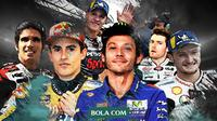 Pebalap MotoGP 2020. (Bola.com/Dody Iryawan)