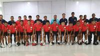 Timnas Laos U-22 yang disiapkan untuk SEA Games 2019. (Bola.com/Dok. LFF)