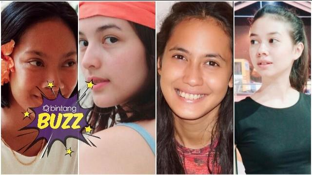 Meskipun tampil natural, 4 seleb ini tetap cantik, ada idolamu?