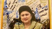 Ani Yudhoyono (Dok.Instagram/@aniyudhoyono/https://www.instagram.com/p/BwtYgmQhEBR/Komarudin)