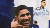 Inter Milan - Achraf Hakimi (Bola.com/Adreanus Titus)