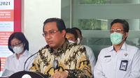 Ketua Badan Pemeriksa Keuangan (BPK) RI Agung Firman Sampurna di Kantor Kejaksaan Agung, Jakarta Selatan. (Merdeka.com)
