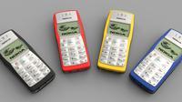 Nokia 1100 diperkirakan telah terjual lebih dari 250 juta unit sejak pertama kali dirilis pada publik di tahun 2003.