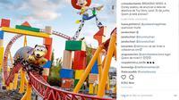 Apakah Anda fans berat film kartun Toy Story? Kabar baik, Disney World Orlando akan segera membuka Toy Story Land khusus untuk Anda. (Foto: Instagram/@coisasdeorlando)