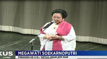"""""""Ibu Mega selalu memberikan nasihat-nasihat untuk hidup berbangsa yang lebih baik ,"""" kata Menteri Kelautan dan Perikanan Susi Pudjiastuti."""