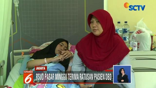 Pihak rumah sakit mengakui tahun ini jumlah pasien DBD menungkat dibandingkan tahun sebelumnya.