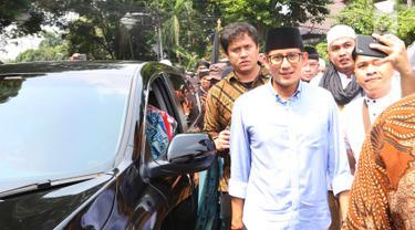 Prabowo Subianto Menuju KPU