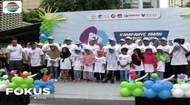 Berbagai upaya dilakukan penyelenggara pemilu agar tak ada eksploitasi terhadap anak di masa kampanye Pemilu 2019.