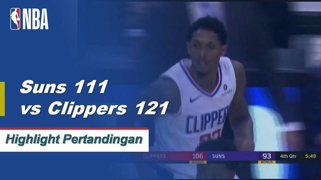 Danilo Gallinari dan Lou Williams keduanya mencetak 21 poin ketika Clippers menang di jalan.