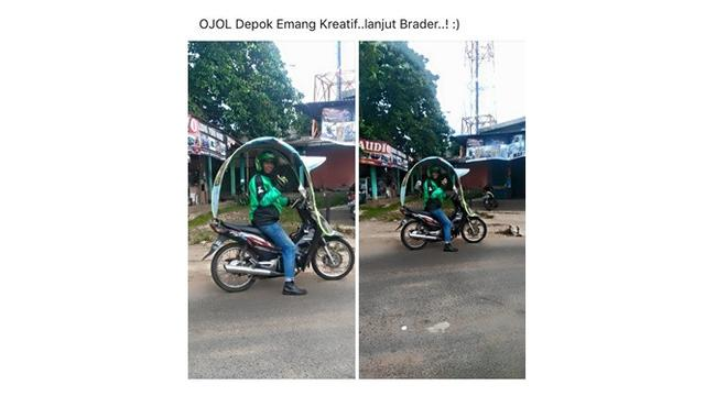 Inovasi Ojol  (Sumber: Instagram/@dramaojol.id