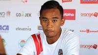 Bek muda Bali United, Dallen Doke. (Bola.com/Aditya Wany)