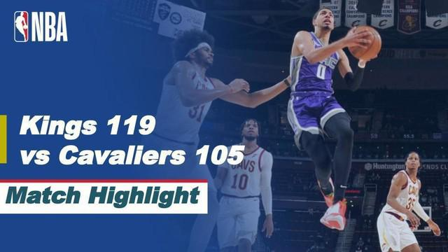 Berita Video Highlights NBA, Sacramento Kings Taklukkan Tuan Rumah Cleveland Cavaliers 119-105