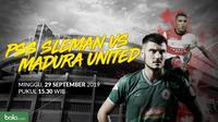 Shopee Liga 1 2019: PSS Sleman vs Madura United. (Bola.com/Dody Iryawan)