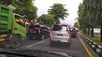 Kemacetan akibat volume kepemilikan kendaraan yang tinggi di Bali