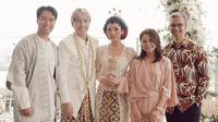 Vidi Aldiano, Rayhan Maditra, Isyana Sarasvati, Rossa, dan Didiet Maulana (Instagram/ vidialdiano)