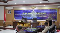 Kunjungan Tim dalam rangka melakukan seleksi calon Trainer of Training (ToT) Safety Driving Center di Polda Sulut dan seluruh jajaran.