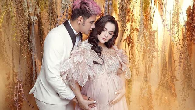 6 Potret Terbaru Irish Bella dan Ammar Zoni Lakukan Maternity Shoot, Pamer Hasil USG