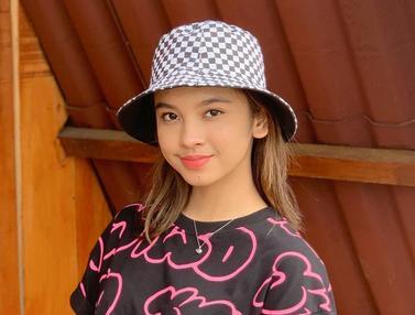 FOTO: Gaya Lyodra Ginting Pakai Topi, Makin Manis dan Modis