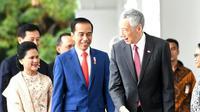Momen Kepala Negara Saat Hadiri Pelantikan Jokowi-Ma'ruf Amin (Sumber: Instagram/sekretariat.kabinet)
