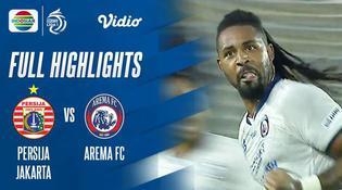 VIDEO: Highlights BRI Liga 1, Gol Tunggal Carlos Fortes Bawa Arema FC Menang atas Persija Jakarta