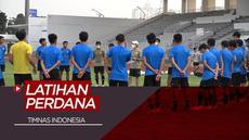 Berita Video Timnas Indonesia Gelar Latihan Perdana Dengan Protokol Kesehatan yang Ketat