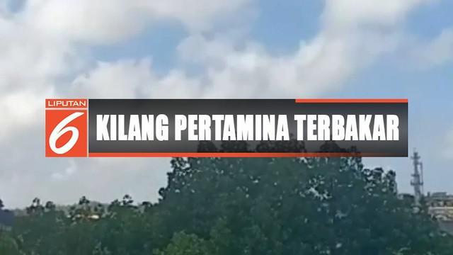 Petugas pun disiagakan karena lokasi kilang minyak yang hanya berjarak 100 meter dari permukimana warga untuk menghindari warga mendekat ke TKP.