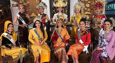Dari Aceh sampai Lampung, Ini Dia Perjuangan Finalis  Puteri Indonesia dari Pulau Sumatera