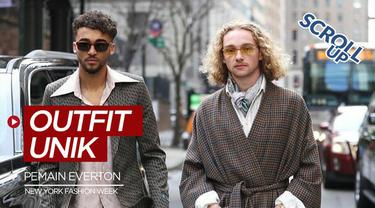 Berita video Scroll Up kali ini membahas 2 pemain Everton, Dominic Calvert-Lewin dan Tom Davies dengan outfit unik di New York Fashion Week.