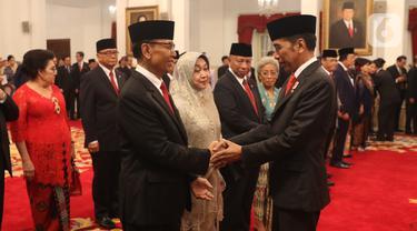Presiden Jokowi Lantik 9 Anggota Wantimpres