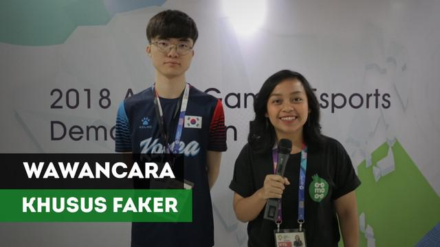 Penggemar Esport khususnya game League of legends pasti tahu dengan Faker, gamer yang sudah mendunia dan melegenda. Faker hadir di Jakarta dalam gelaran ujicoba esports di Asian Games 2018.