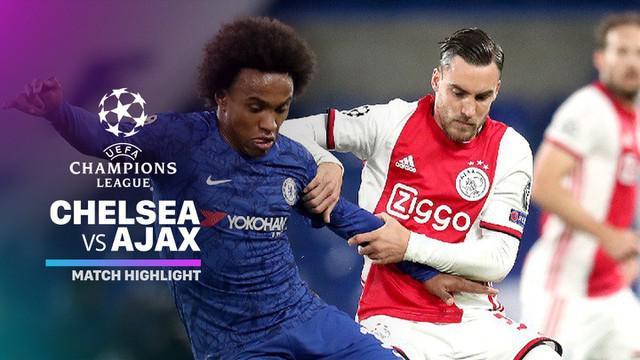 Berita video highlights Grup H Liga Champions 2019-2020 antara Chelsea melawan Ajax yang berakhir dengan skor 4-4, Selasa (5/11/2019).