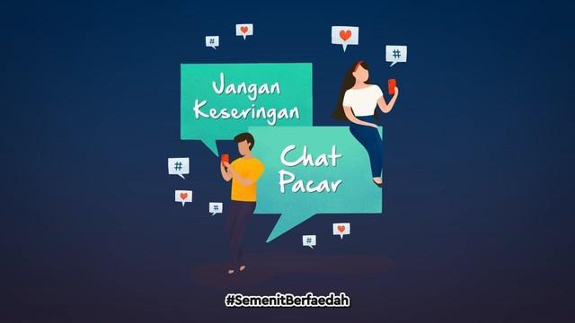 Seberapa sering kamu kirim pesan ke pasangan dalam satu hari? Jangan terlalu sering genks, ternyata keseringan kirim pesan ke pasangan gak baik untuk kesehatan.