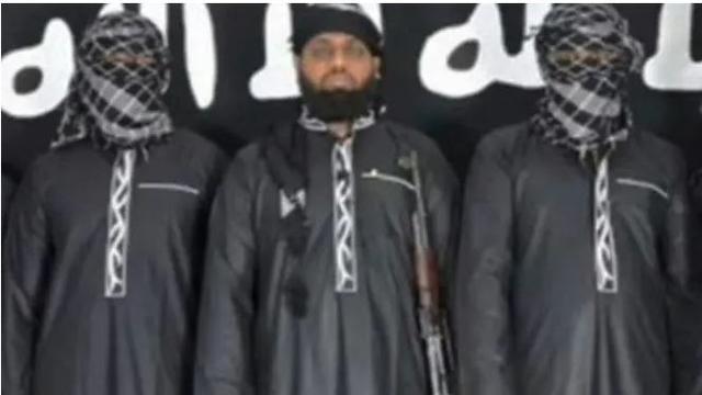 Potongan video ISIS yang menyebut terduga bomber Sri Lanka adalah pembuka agama radikal. (AFP/Ho)