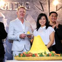 Sheila Timothy di preskon film Wiro Sableng 212. (Adrian Putra/Bintang.com)