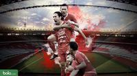 Final Piala Indonesia: Persija Jakarta. (Bola.com/Dody Iryawan)