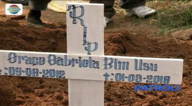 Keluarga korban meminta aparat kepolisian mengusut tuntas kasus pembunuhan Grace Gabriela Bim Usu.