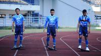 Pemain Persib Bandung menjalani latihan di GBLA, Bandung. (Bola.com/Persib Official)