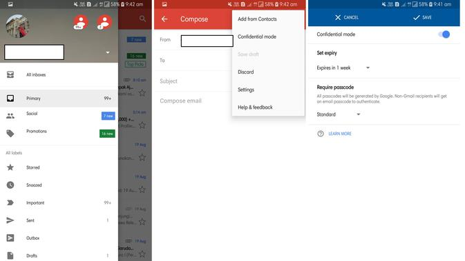 Confidential Mode yang ada di Gmail for Android (Liputan6.com/ Agustin Setyo W)