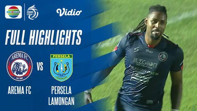 Berita Video, Hasil Pertandingan Arema FC Vs Persela Lamongan pada Minggu (3/10/2021)