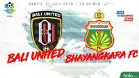 Liga 1 2018 Bali United Vs Bhayangkara FC (Bola.com/Adreanus Titus)