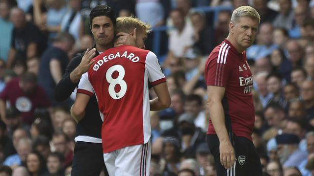 Foto: Yang Tabah ya, Inilah Ekspresi Kekecewaan Pemain Arsenal Usai Kalah Beruntun di Liga Inggris