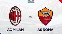 Serie A - AC Milan Vs AS Roma (Bola.com/Adreanus Titus)